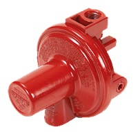 LPG and Natural Gas Equipment red high pressure rego LPG regulator 1st stage