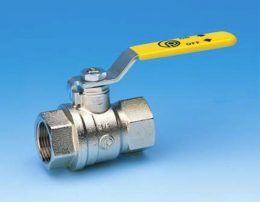"BALL VALVE 3/4"" F&F LEVER HANDLE"