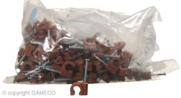 """PLASTIC NAIL CLIP 5/8"""" (100 PACK)"""